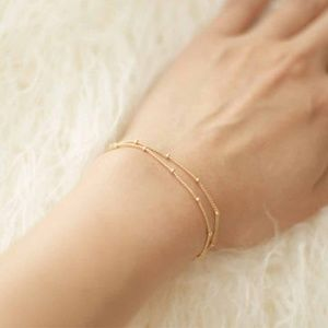 Jewelry - Gold color - Minimalist Multi Layer Bracelet